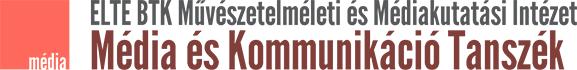Média és Kommunikáció Tanszék